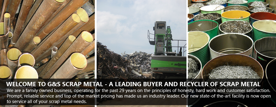 Welcome to G&S Scrap Metal